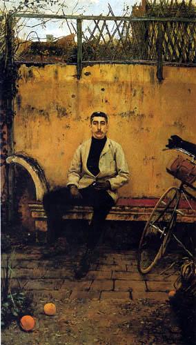 Santiago Rusiñol - Ramón Casas