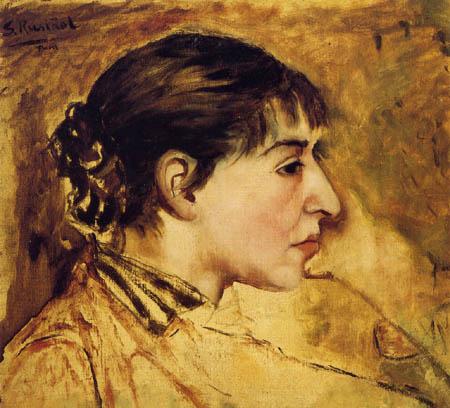 Santiago Rusiñol - Sarah Bernhardt