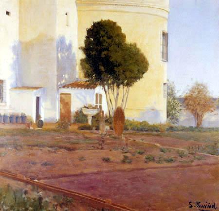Santiago Rusiñol - Orchard of Vinyet