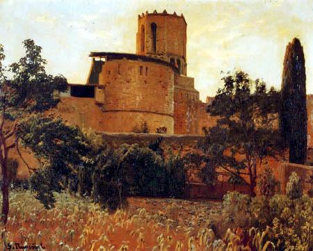 Santiago Rusiñol - Sant Pere de Galligans