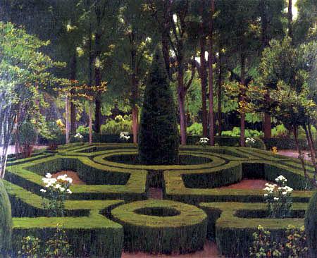 Santiago Rusiñol - Gardens of Aranjuez