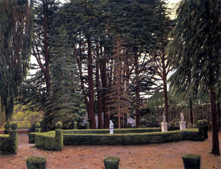 Santiago Rusiñol - Gärten von Aranjuez