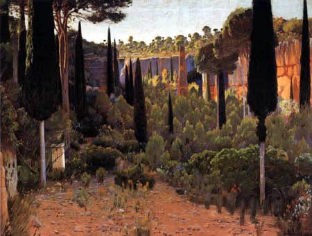 Santiago Rusiñol - The Roman quarry of Medol