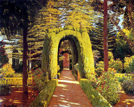 Santiago Rusiñol - Jardins d'Aranjuez