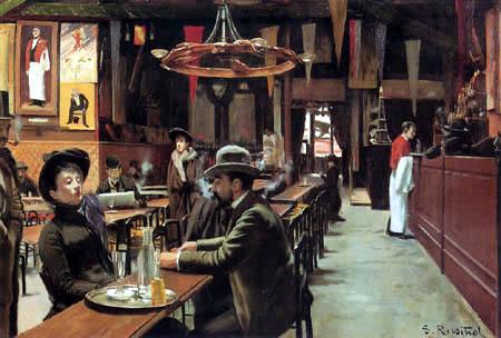 Santiago Rusiñol - Café de Montmartre