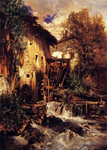 Robert Russ - Mill in South Tyrol