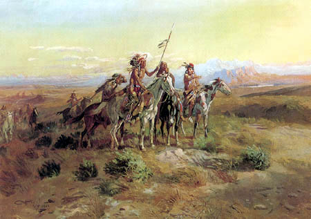 Charles M. Russell - The Scouts