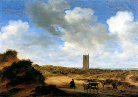 Salomon van Ruysdael - Egmond aan Zee