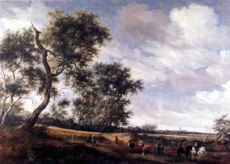 Salomon van Ruysdael - Dutch landscape