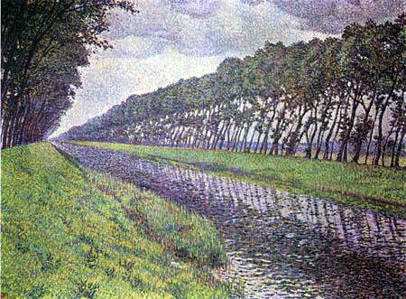Théo van Rysselberghe - Waterway