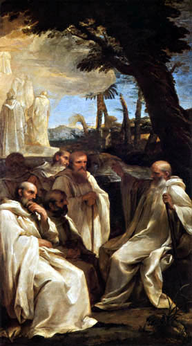 Andrea Sacchi - The vision of Saint Romuald