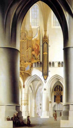 Pieter Saenredam - St. Bavo-Kirche in Haarlem