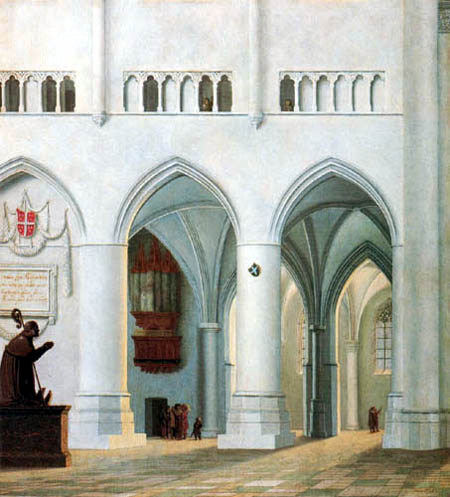 Pieter Saenredam - Interior of the Church of St. Bavo, Haarlem