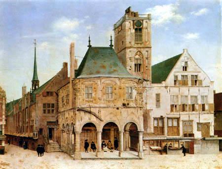 Pieter Saenredam - Stadthaus von Amsterdam