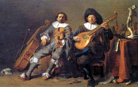 Cornelis Hermansz. Saftleben (Saftleven, Sachtleven) - Duet