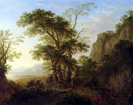 Herman Hermansz. Saftleben (Saftleven, Sachtleven) - Italian mountain landscape