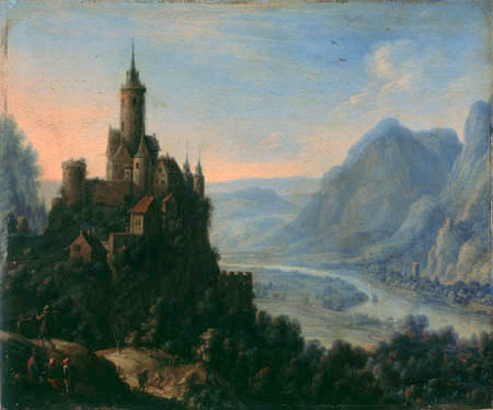Herman Hermansz. Saftleben (Saftleven, Sachtleven) - Castle Katzenellenbogen on the Rhine