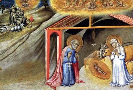 Sano di Pietro (Ansano di Mencio) - Birth of Jesus