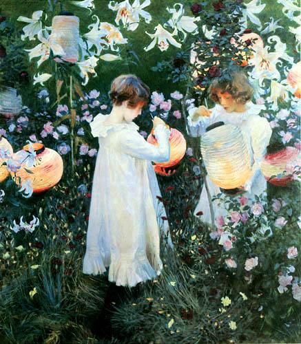 John Singer Sargent - Carnation, Lily, Lily, Rose