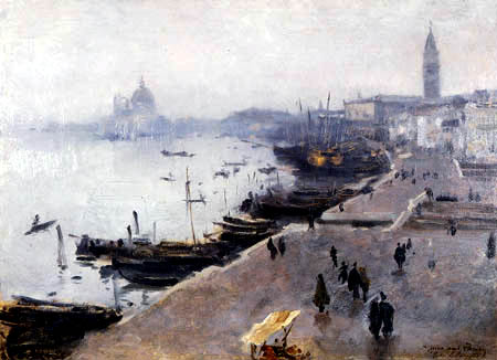 John Singer Sargent - The Harbor of Venice