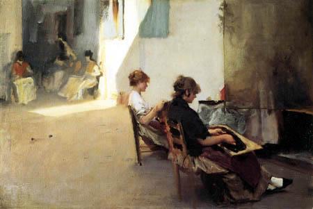 John Singer Sargent - In Venice