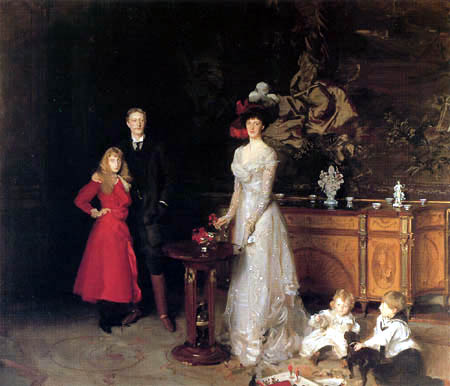 John Singer Sargent - The Sitwell Family