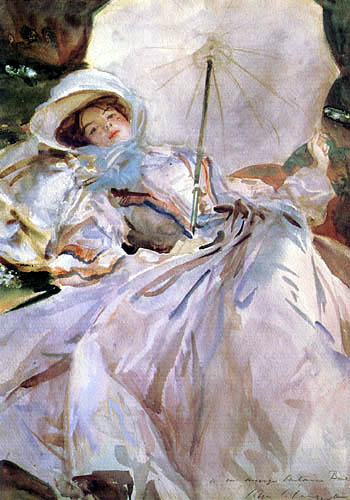 John Singer Sargent - The lady with the sunshade