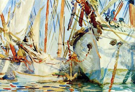John Singer Sargent - Weiße Schiffe