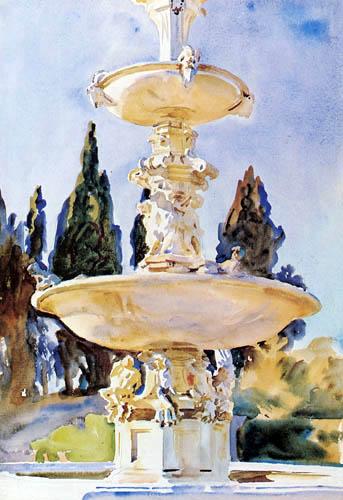 John Singer Sargent - Villa de Medici