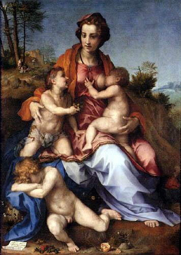Andrea del Sarto - Caritas