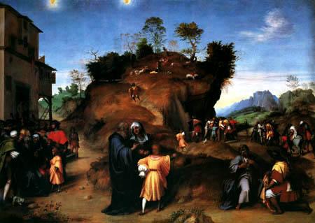 Andrea del Sarto - Joseph in Ägypten