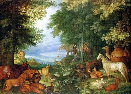 Roelant Savery - Orpheus unter den Tieren