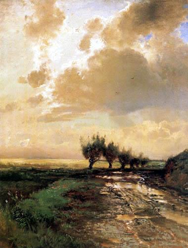 Alexej Kondratjewitsch Sawrassow - Feldweg