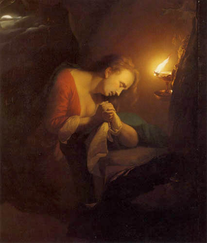 Gottfried (Godfried) Schalcken - Penitent Magdalen