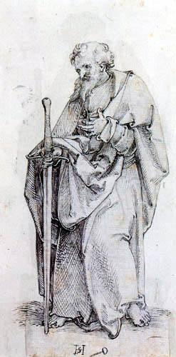 Hans Leonhard Schäufelein (Scheufelin) - Apostle Saint Paul