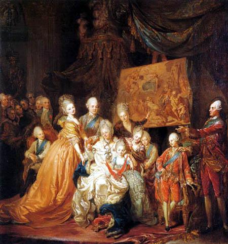 Johann Eleazar Schenau - The Baronial Saxonian Family