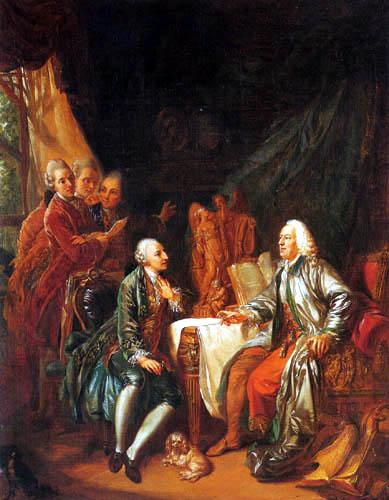 Johann Eleazar Schenau - The art discussion