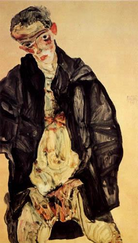 Egon Schiele - Masturbation