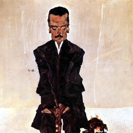 Egon Schiele - Porträt Eduard Kosmack