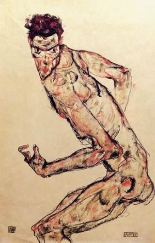 Egon Schiele - Kämpfer