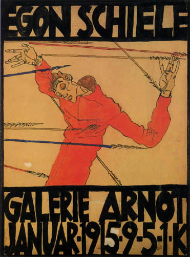 Egon Schiele - Exposition poster