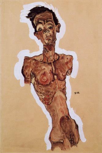 Egon Schiele - Selbstakt