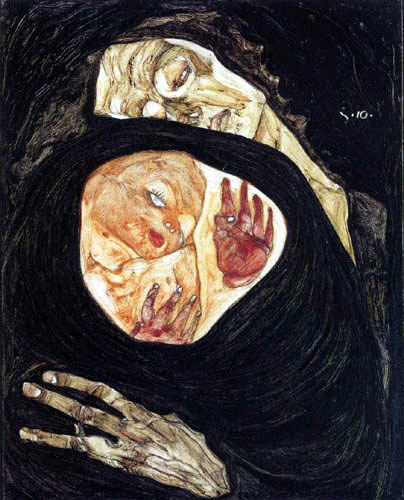 Egon Schiele - Tote Mutter