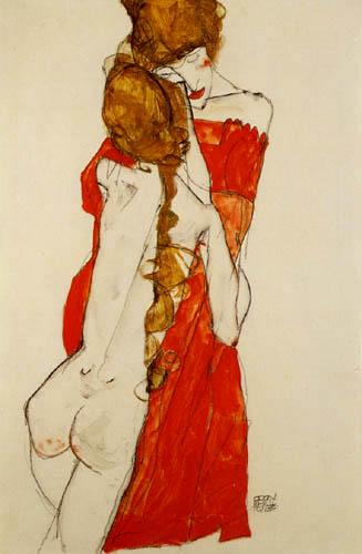 Egon Schiele - Madre e Hija