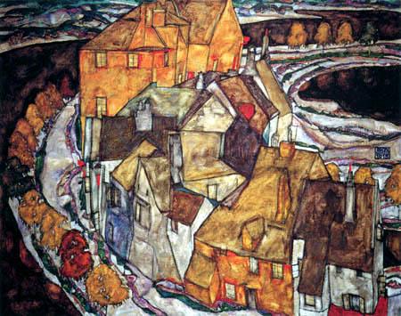 Egon Schiele - Houses