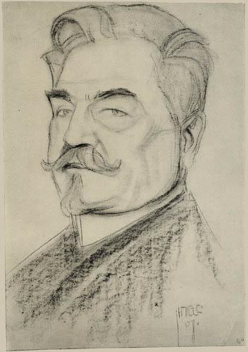 Egon Schiele - Portrait of Leopold Czibaczek