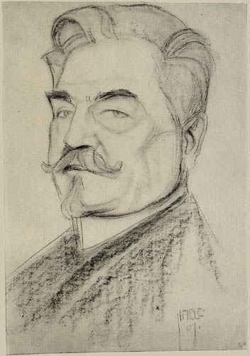 Egon Schiele - Bildnis Leopold Czibaczek