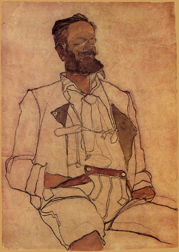Egon Schiele - Portrait of Carl Reininghaus