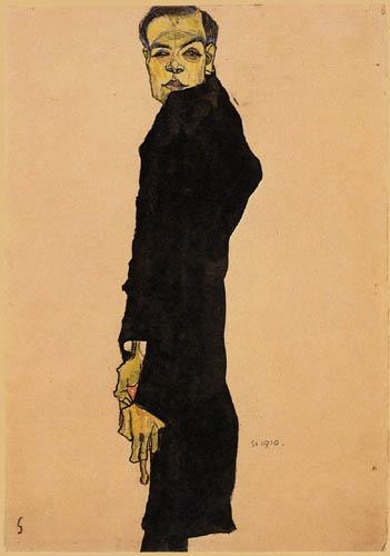 Egon Schiele - Max Oppenheimer