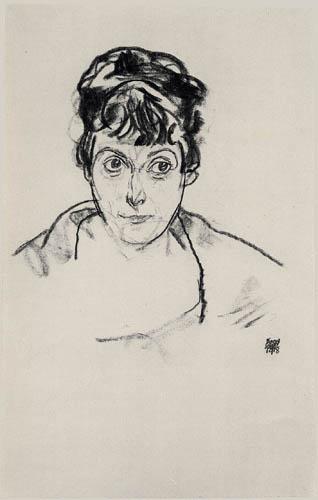 Egon Schiele - Portrait of a lady